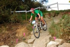 Irish Mountainbikers test the London Olympics Course