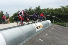 Girls Cycling Training Camp… Day 3: Getting air, and making tracks.