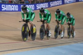 Womens Team Pursuit Competition Relaunch Saturday 6th