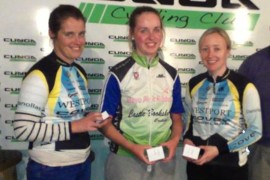 Lauren Gourlay, cyclist and budding coach…