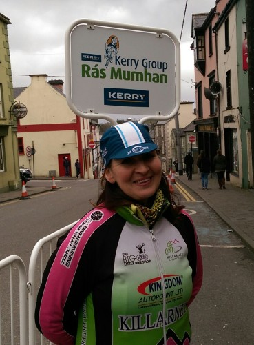 Training Day organiser -Pauline Russell, Killarney CC