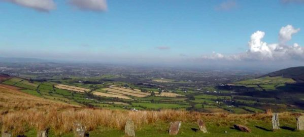 View from the Nine Stones summit of Mt Leinster