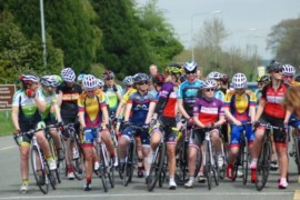 Joe Daly Cycles Women's National League, after 5 rounds