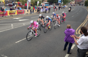 The winning break of 6 riders in the final lap of the National Champs 2015 in Omagh