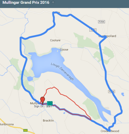 Women's Mullingar GP Race circuit