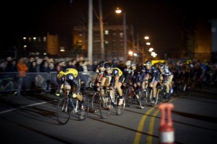 the thrills and spills of crit racing