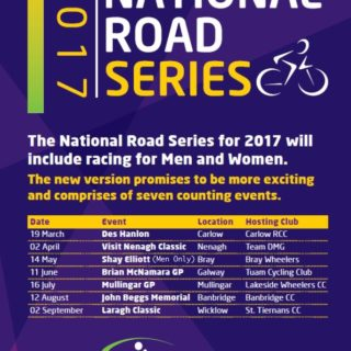 2017 Women's National Road Series Announcement