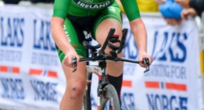 Burns Debuts at World Championships in Elite Women's Time Trial