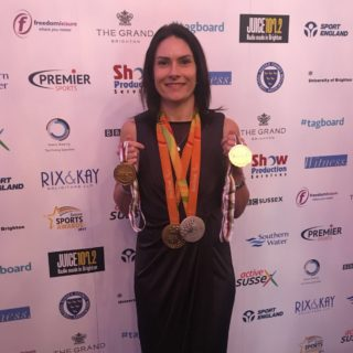 Dunlevy is crowned champion at Sussex Sports Awards