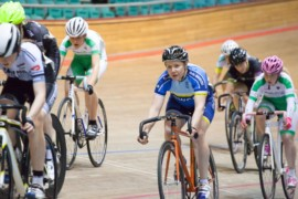 Women's Commission Race at Manchester Velodrome