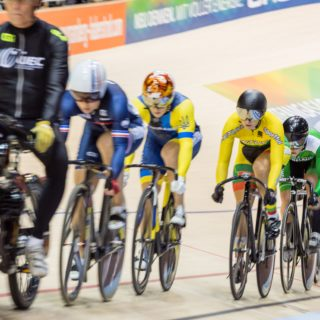 Robyn Stewart 9th In World Cup Keirin: