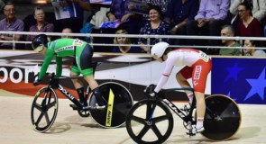 Stewart Performs Strongly at Final Track Cycling World Cup